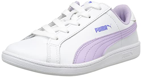 Puma Smash Fun L Sneaker Bambino Bianco Blanc White/Orchid Bloom 31 EU