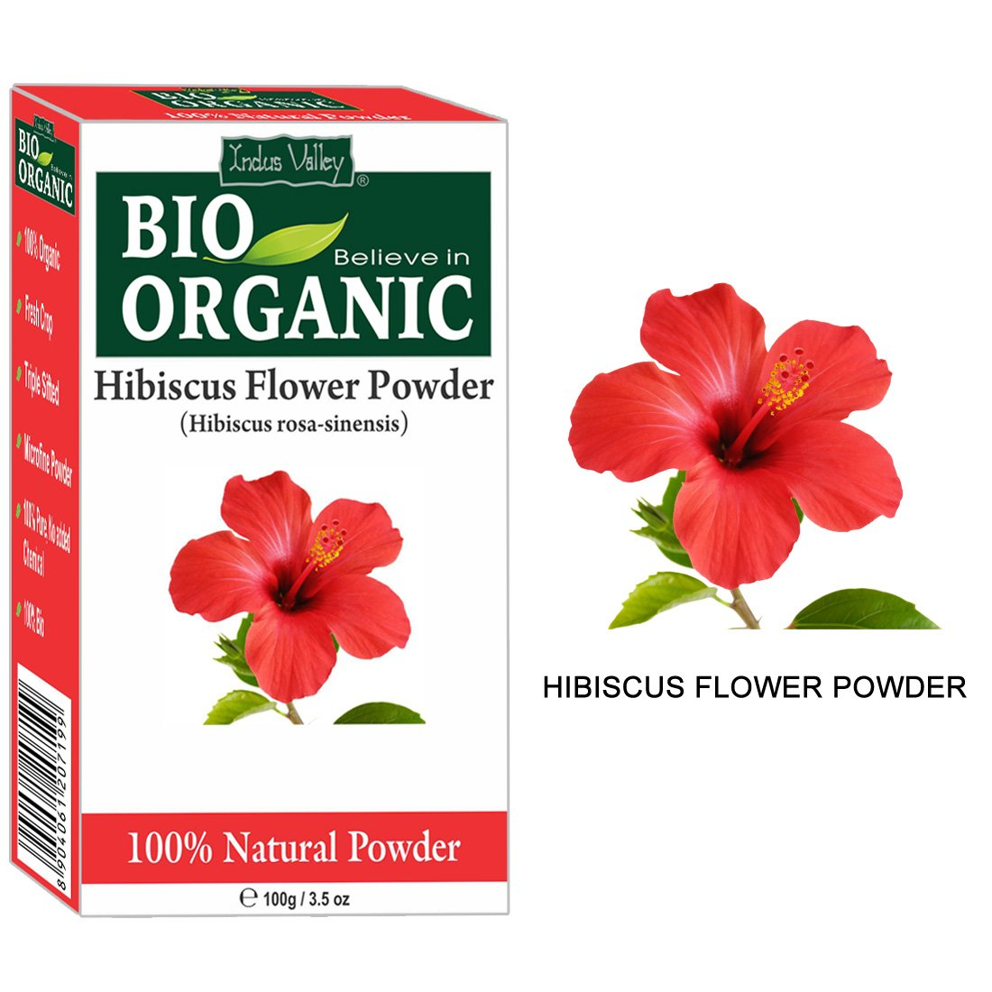 Indus valley organic hibiscus powder 100 grams amazon beauty izmirmasajfo Image collections