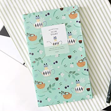 amazon com 2018 indigo cute willow patterns slim pocket personal
