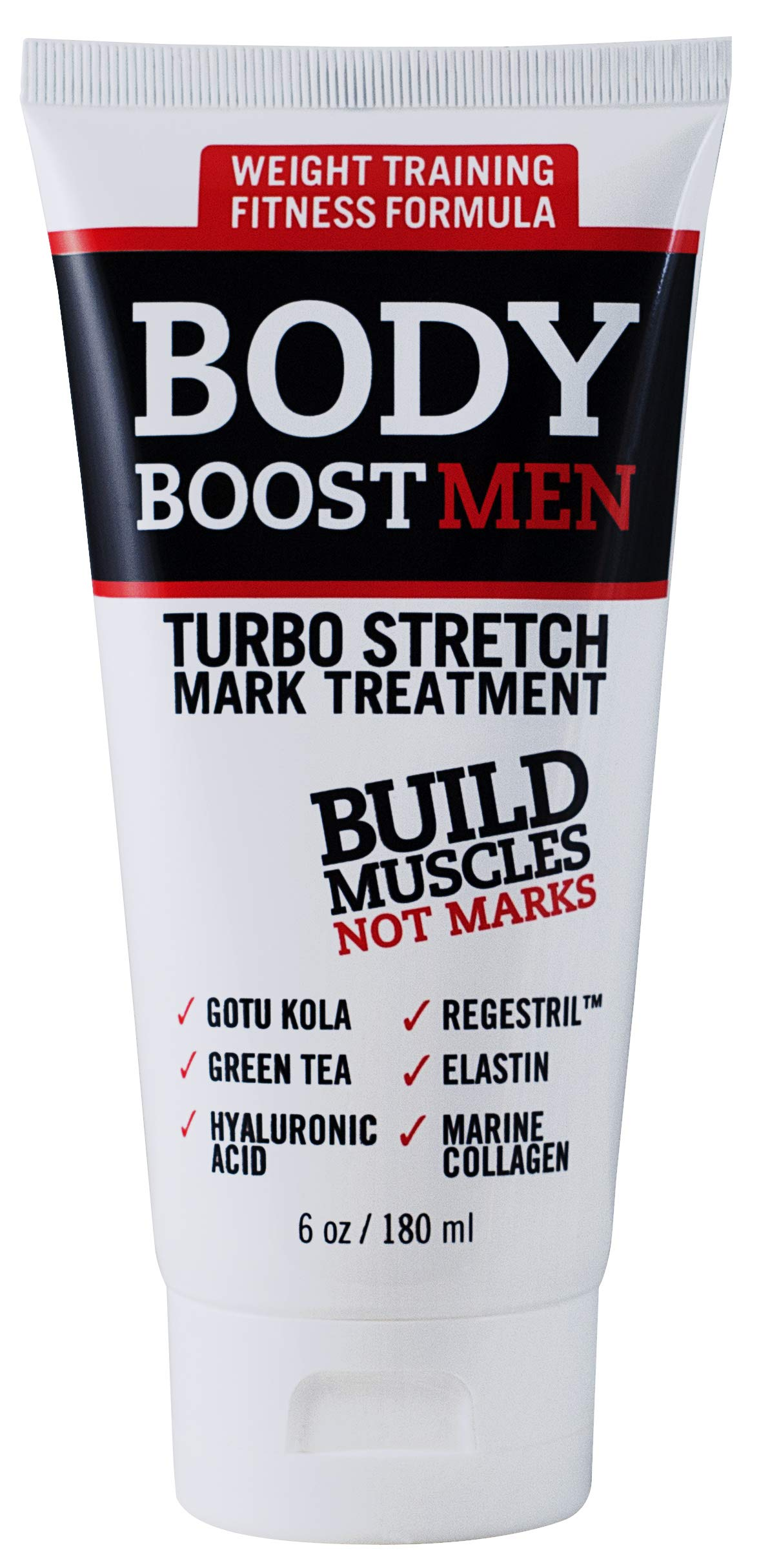 Body Boost Men Turbo Stretch Mark Treatment- Stretch Mark and Scar Treatment for Bodybuilding by Body Boost Men
