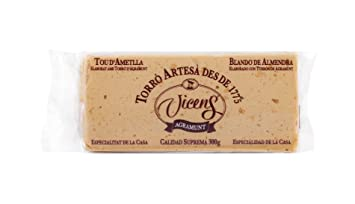 Creamy Almond Turrón Bar by Vicens