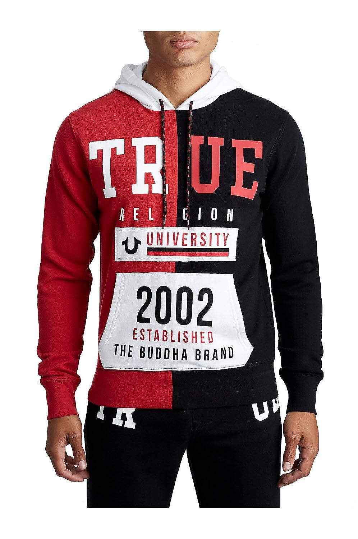 True Religion Herren Split TR University Active Hoodie