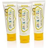 Jack N' Jill Natural Toothpaste - Organic Banana (Pack of 3)
