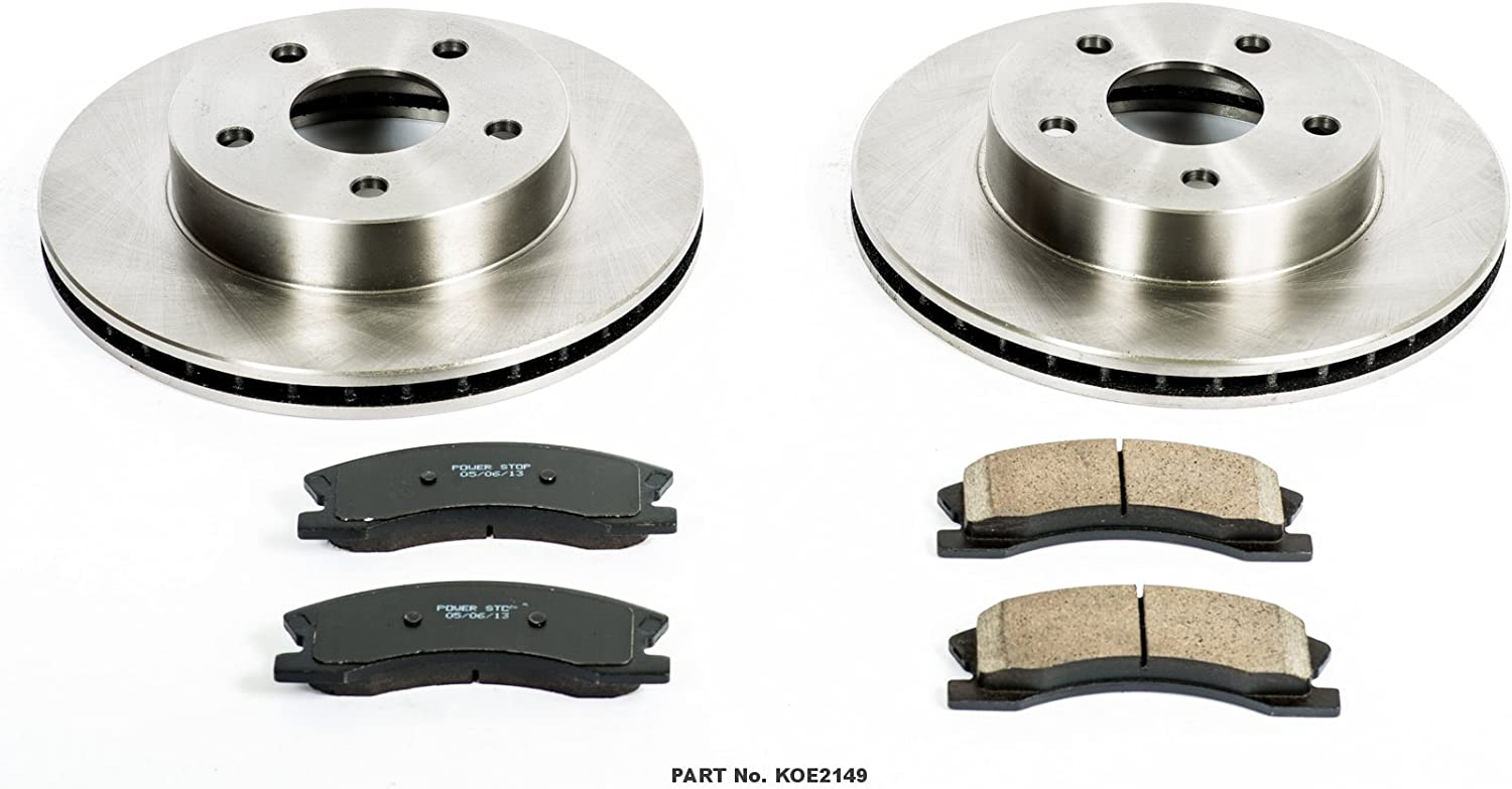 Autospecialty KOE2147 1-Click OE Replacement Brake Kit