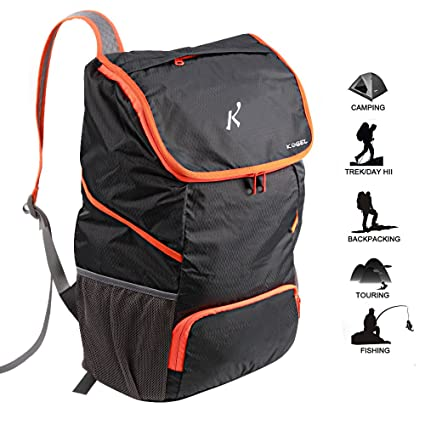7cf51743470 CFORWARD Ultra Lightweight Packable Backpack Water Resistant Hiking Daypack,Small  Backpack Handy Foldable Camping Outdoor