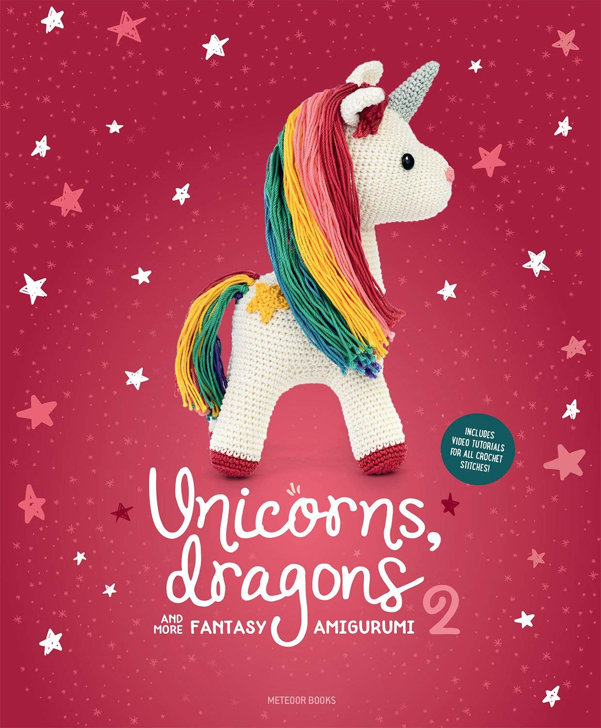 Crochet Unicorn PATTERN PDF (English), Plush pattern, Rainbow ... | 1500x1239