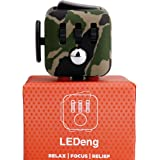 LEDeng Fidget toys Cube for Fidgeters! Relieve Stress, Anxiety, and Boredom all at your finger tips