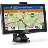 OHREX GPS Navigation for Truck RV Car (7 inch), with Bluetooth Hands-Free Calls, GPS for Truck Drivers Commercial, Trucker GP