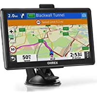 $77 » OHREX GPS Navigation for Truck RV Car (7 inch), with Bluetooth Hands-Free Calls, GPS for…