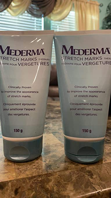 Amazon Com Mederma Stretch Marks Therapy Cream 150 G Pack Of 2