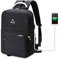 Koolertron SLR DSLR Camera Backpack USB Charge Multi-Function Waterproof Photography Bag Unisex Outdoor Travel Bag for Nikon Canon Camera
