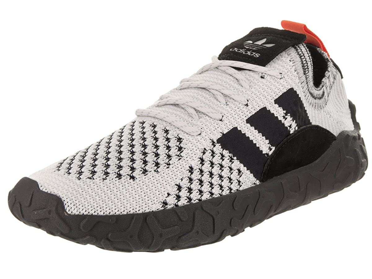 - adidas Men's F 22 Primeknit Running shoes (9, Crystal White Core Black Trace orange)