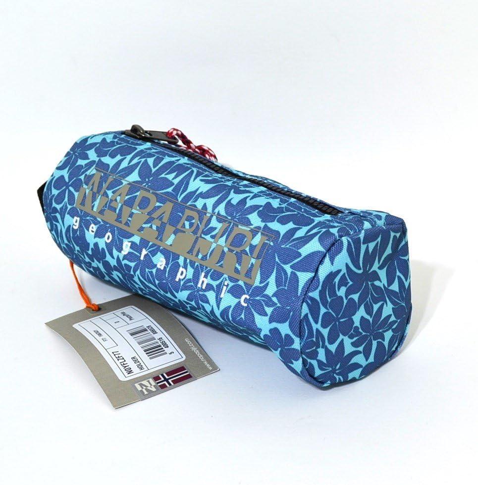 Estuche Napapijri Escuela Holder Fantasy Blue Tombolino Porta bolígrafos colores: Amazon.es: Oficina y papelería