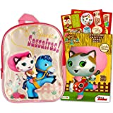 """Disney Sheriff Callie Preschool Backpack with Stickers (11"""" Mini Toddler Backpack)"""