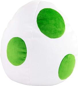 Club Mocchi Mocchi Yoshi Egg Plush Toy, White