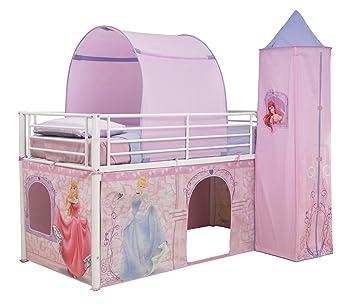 Worlds Apart 490dsp01e Disney Princess Hochbett Vorhang Set Amazon