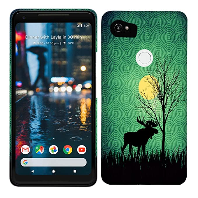 Funda para Google Pixel 2 XL/Pixel XL 2 - Moose Moon Hard ...