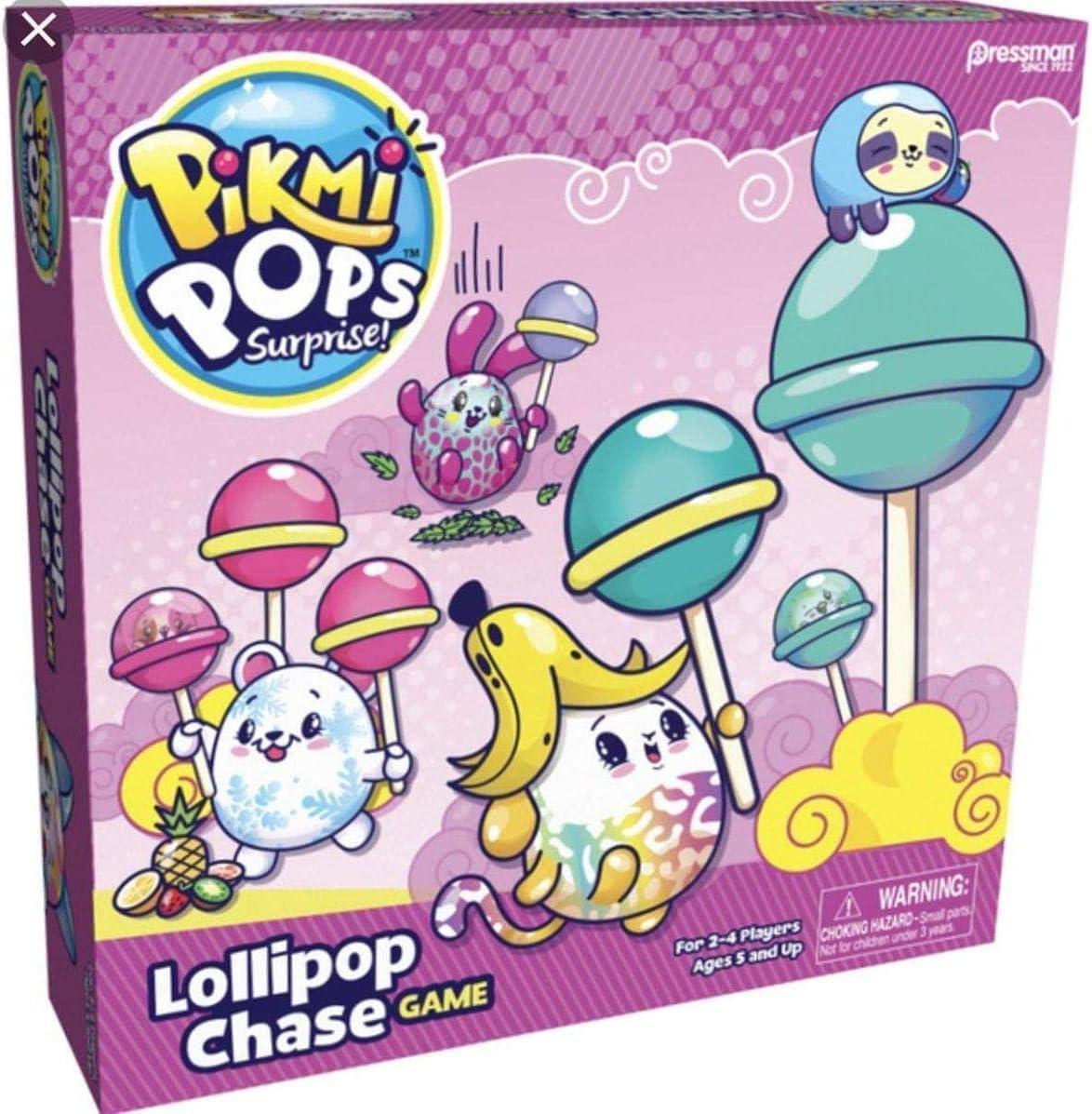 Lollipop Chase Game Pressman Five Below Pikmi Pops Surprise