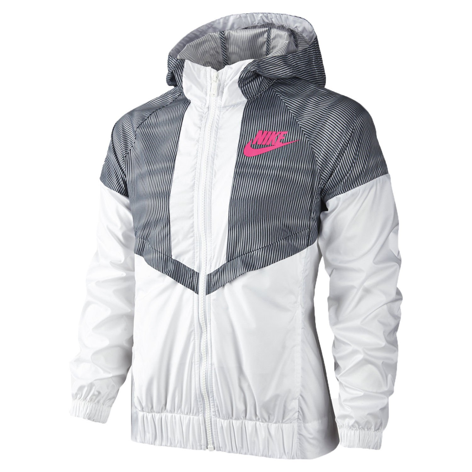 5b1c331f6cc7 Amazon.com  Nike Windrunner Big Kids  (Girls ) Jacket  Clothing