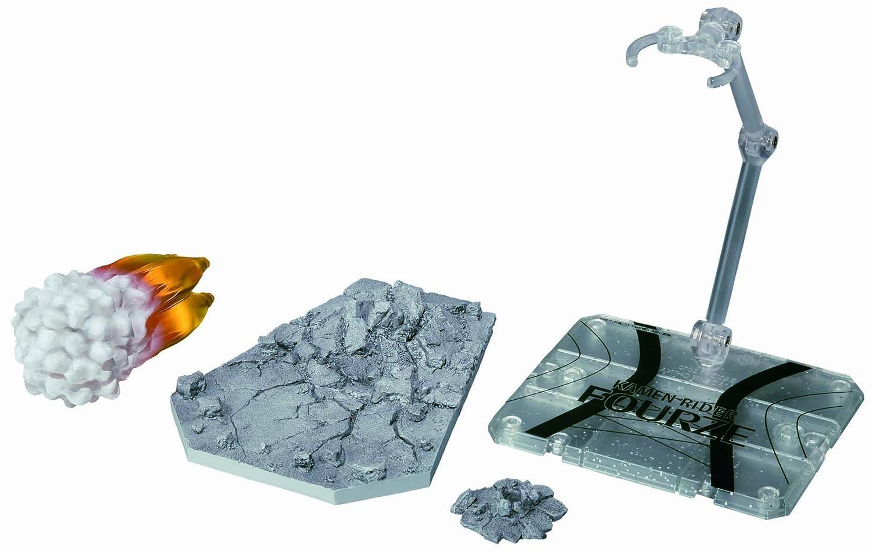 Bandai Tamashii Nations Fourze Stand and Effect Set Kamen Rider Fourze - S.H.Figuarts Bluefin Distribution Toys 71669