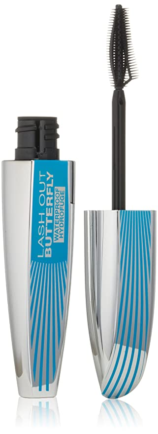 LOreal Paris Voluminous Butterfly Waterproof Mascara, 870 Black , 0.21 Fluid Ounce by