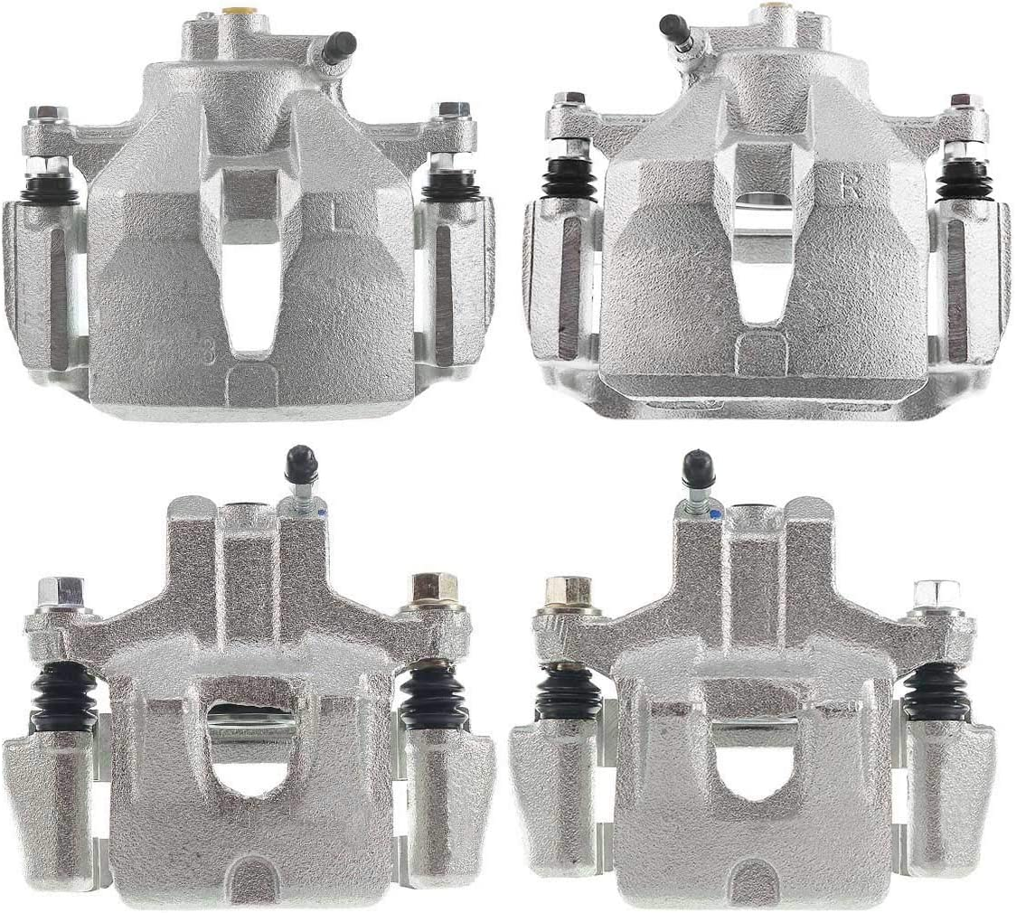 A-Premium Brake Caliper Assembly Compatible with Toyota Camry 2002-2006 Front and Rear 4-PC