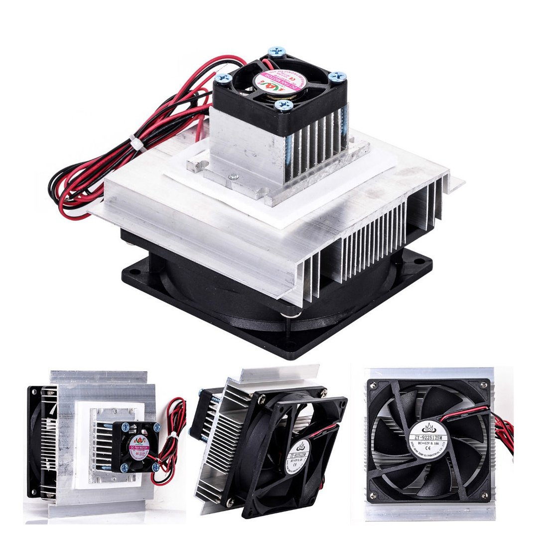 Toogoo TEC-12706 Thermoelectric Peltier Refrigeration Cooling System Kit Cooler Fan DIY by Toogoo (Image #8)