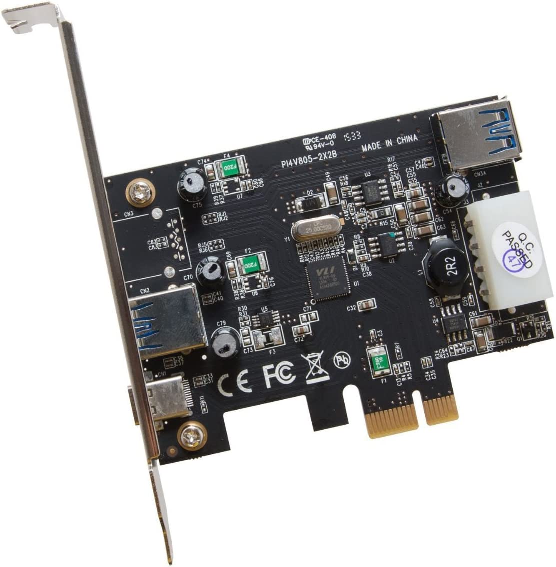 Infozone SY-PEX20203 USB 3.1 Type-C PCI-E Card Black