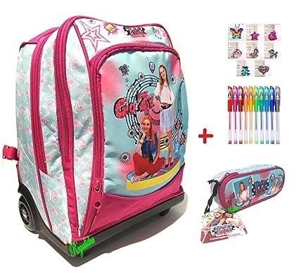Trolley Mochila Escolar Maggie & Bianca Girl Original Nueva ...