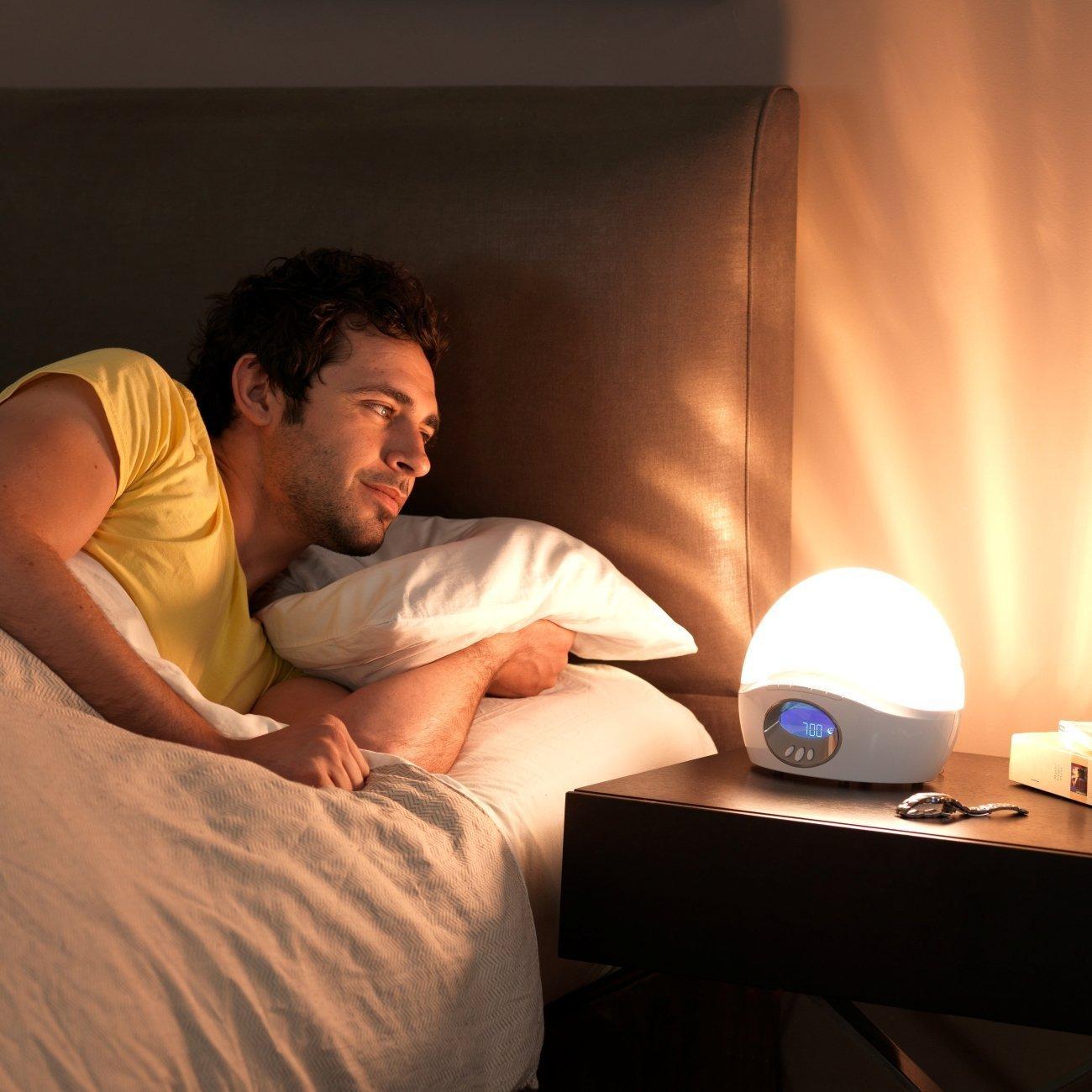 Amazon.com Lumie Bodyclock Active 250 Wake-Up Light Alarm Clock with FM Radio and Extra Audio Options Health u0026 Personal Care  sc 1 st  Amazon.com & Amazon.com: Lumie Bodyclock Active 250 Wake-Up Light Alarm Clock ... azcodes.com