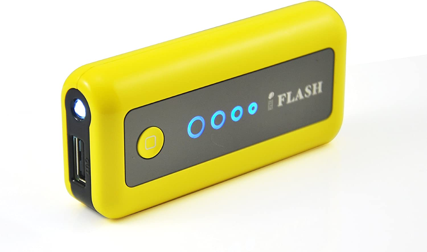 iFlash 5600mAh External Battery (AC Adapter Charger Included) Support Apple iPhone 6 Plus / 6 / 5S/5C/5/4/4S, iPod Touch/Classic/Nano (AC Adapter and Apple Cable are NOT included); Motorola MOTO X2/G2/E2/X/G/E, Verizon Droid Razr/X2/Bionic; Samsung Galaxy S6 Edge / S6 / S5 / S4 / S3 / S2 / Mini; HTC: One X/M7/M8/M9 -- (Yellow Color, Retail Package)