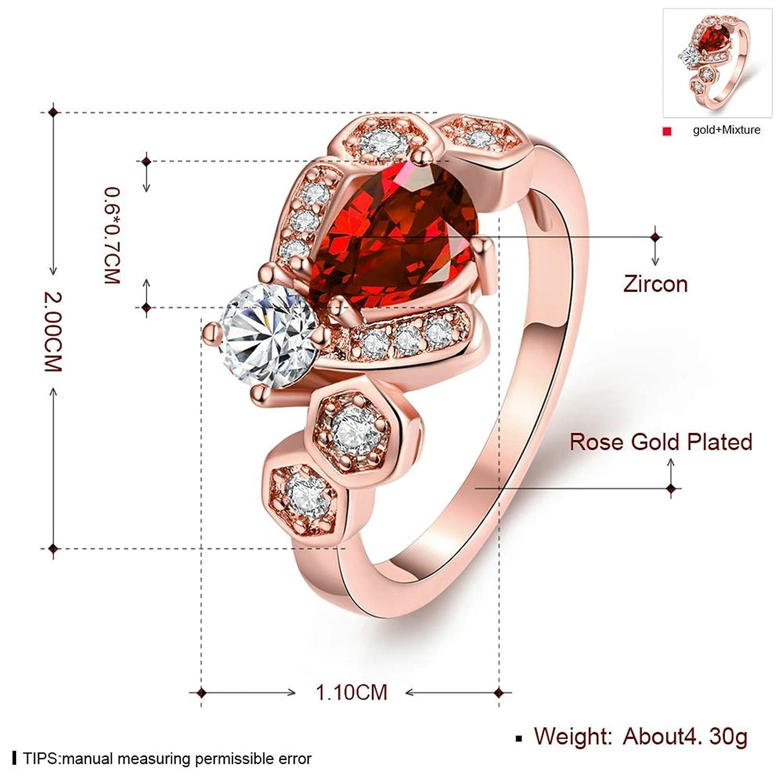 Fashion Wedding Bands futurepost.co.nz Gnzoe Jewelry 18K Rose Gold ...