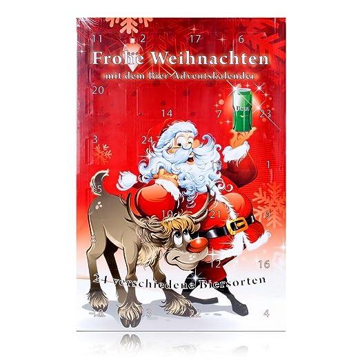 Bier Weihnachtskalender.Huber S Adventskalender Bier Adventskalender Santa Bier Mit 24 Bierdosen A 500ml Inkl 6 Euro Pfand