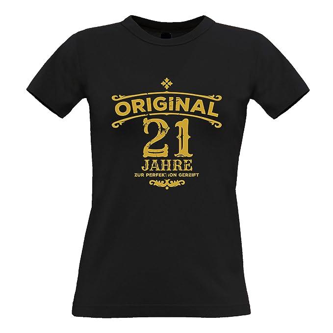 Tim And Ted Geburtstag Frauen T Shirt Original 21 Jahre Gealtert Zur