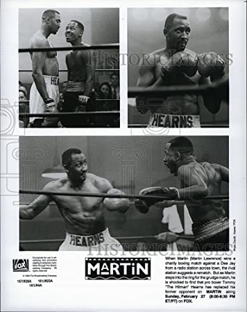 1994 Press Photo Martin Lawrence Tommy The Hitman Hearns Martin Amazon Ca Home Kitchen