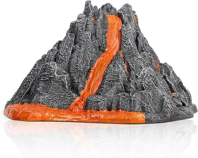 siwetg Simulación de volcán, Modelo Rojo, Tren de luz roja, Dinosaurio, Modelo de Juguete, Accesorios: Amazon.es: Hogar