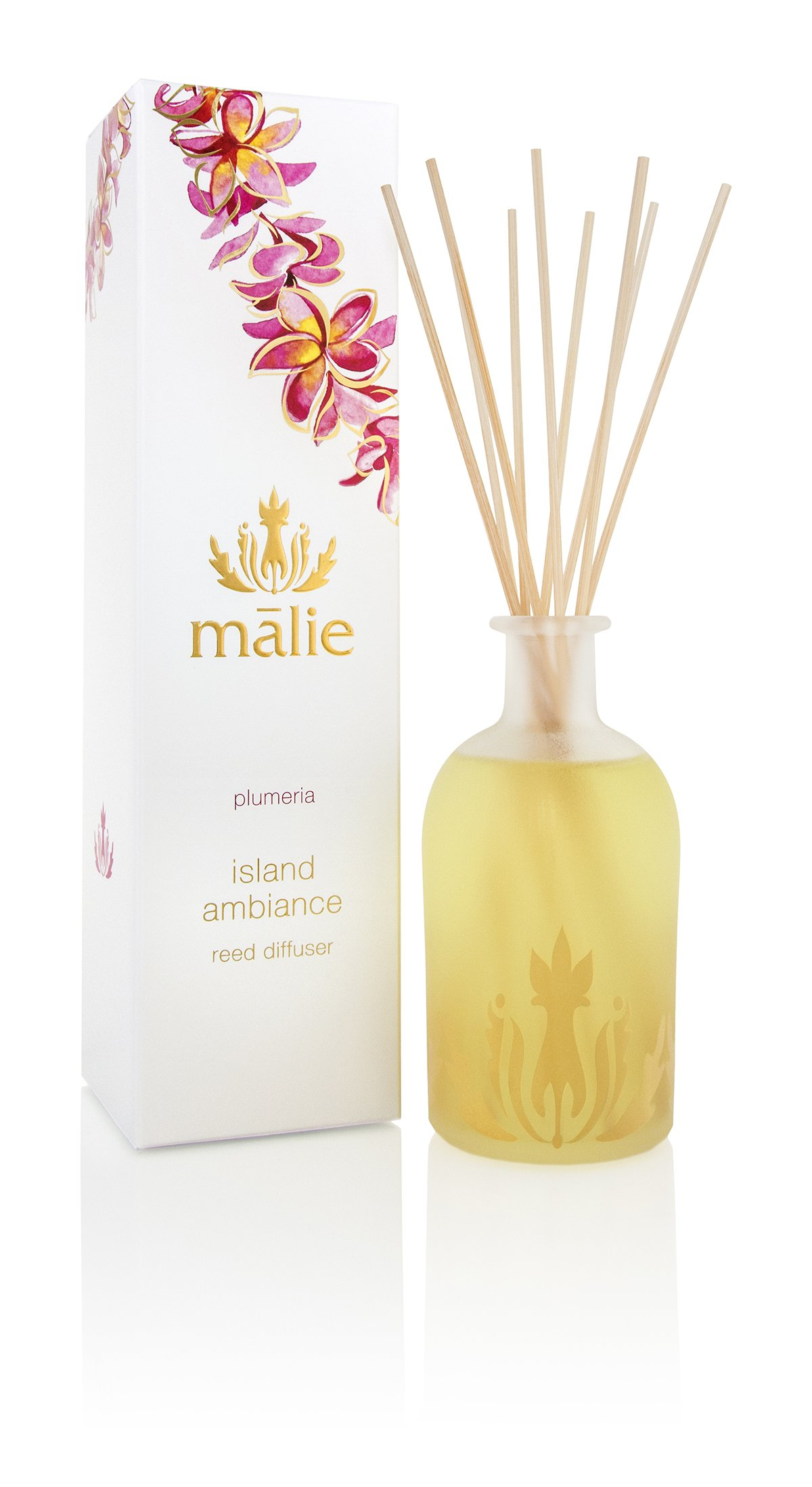Malie Island Ambiance Reed Diffuser - Plumeria by Malie (Image #1)