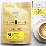 250 Grams Medium Roast Sumatra Coffee | Ground Coffee or Whole Beans | Perfect for Espresso Coffee Cafetiere Filter or Moka Pot | 100% Arabica Speciality Coffee | RFA | Fair Trade Organic