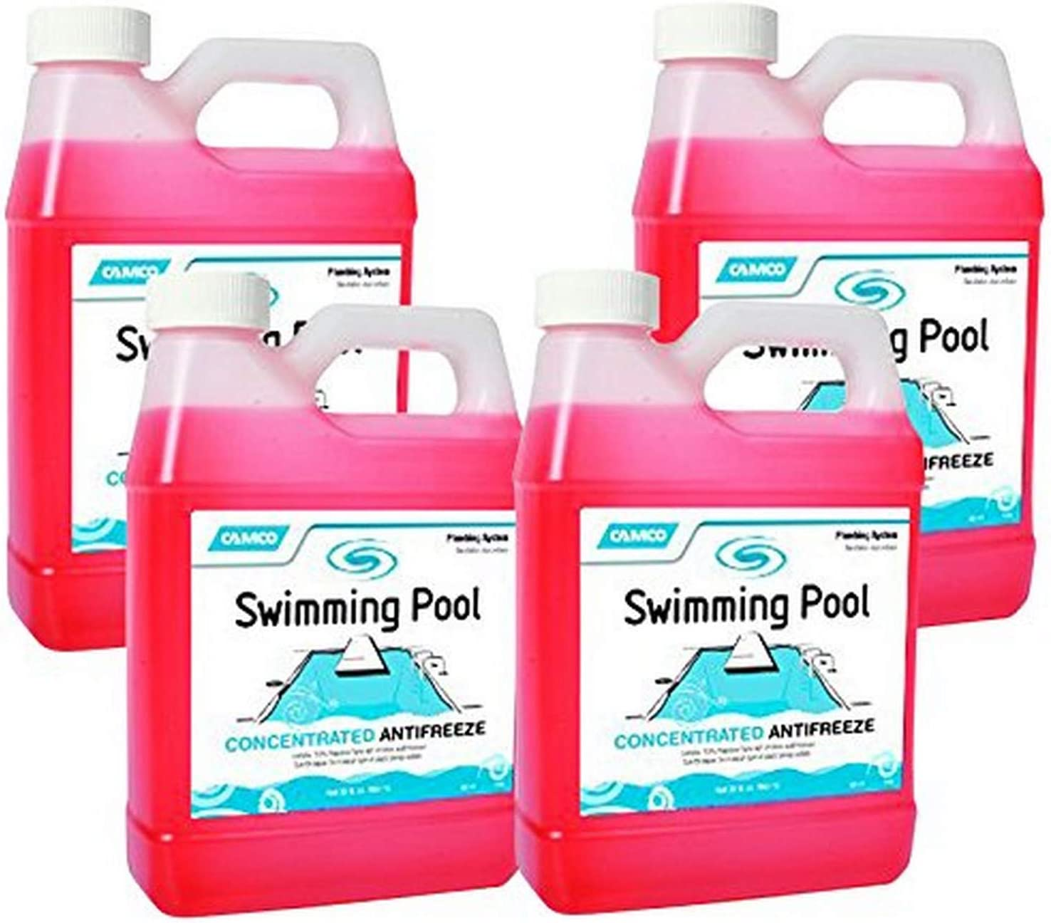 4 Pack Camco 30054 04 Swimming Pool Concentrated Antifreeze 1 Quart Pools Hot Tubs Supplies Patio Lawn Garden Ekbotefurniture Com