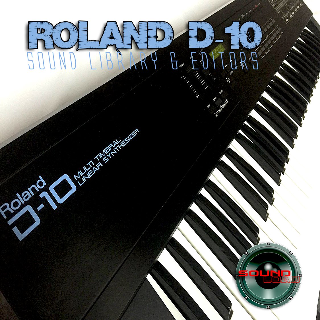 for ROLAND D-10 Huge Original Factory and NEW Created Sound Library & Editors on CD