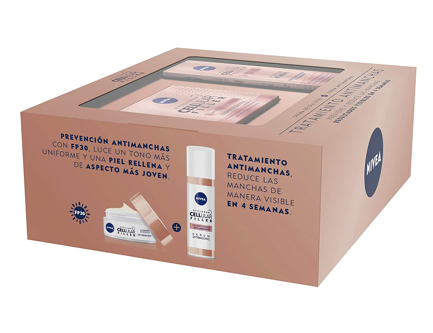 NIVEA Hyaluron Cellular Filler, pack tratamiento antimanchas con ...