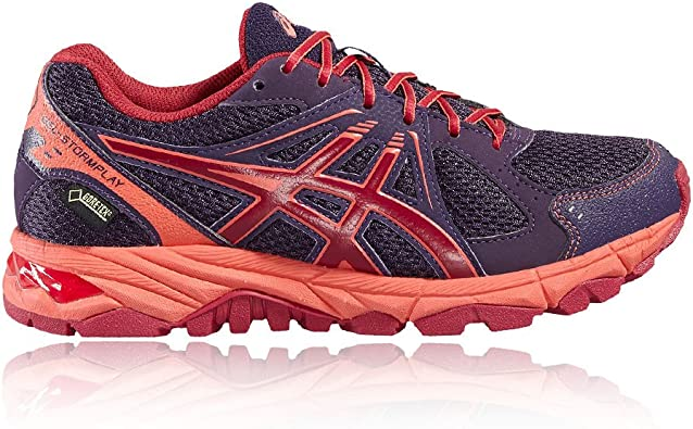 Asics Gel-Stormplay Gore-Tex Junior Zapatilla De Correr para Tierra - 34.5: Amazon.es: Zapatos y complementos
