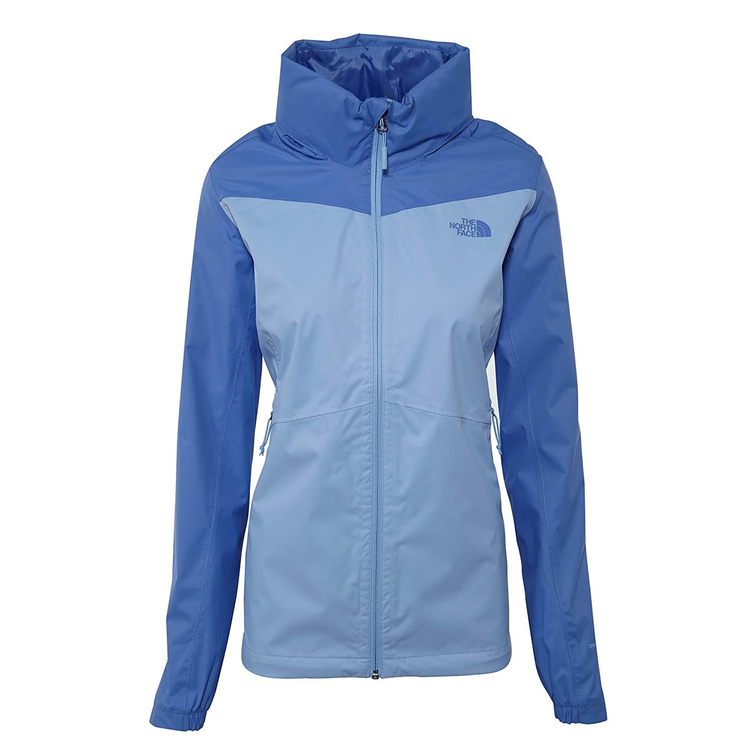 The North Face Women's Resolve Plus Jacket  Collar bluee and Stellar bluee  XL