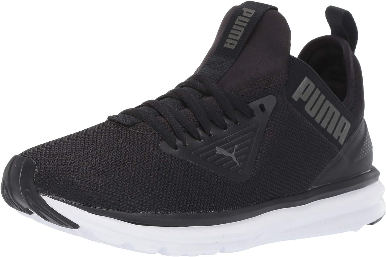 Enzo Beta Sneaker, Charcoal Gray White