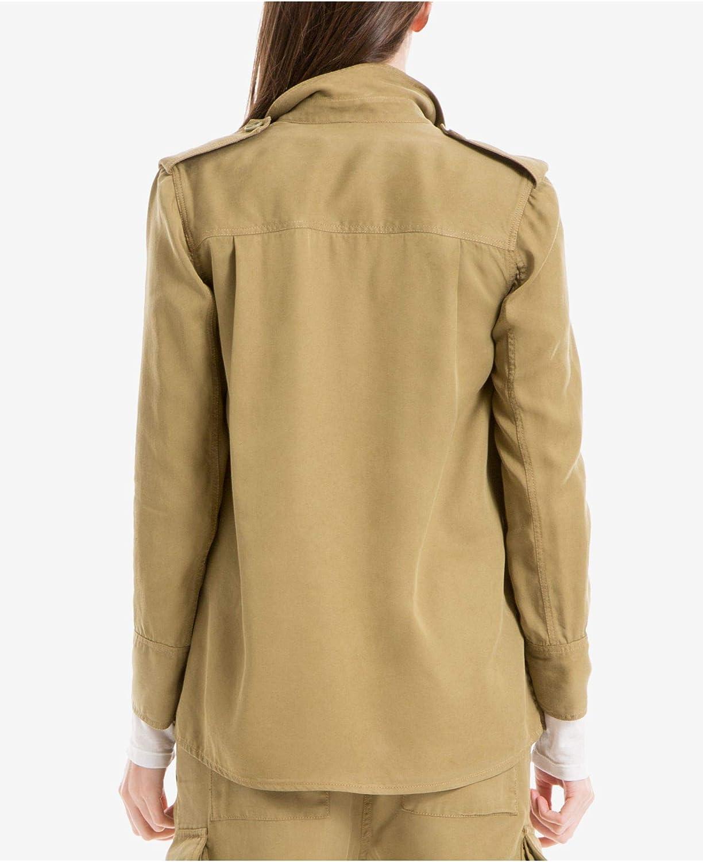 Max Studio $98 Womens New 1734 Green Zip Up Casual Jacket XL B+B