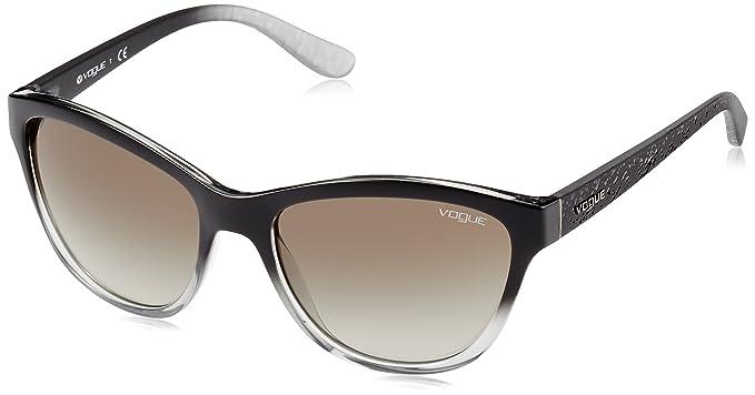 Vogue 0VO2993S 18808E 57 Gafas de sol, Negro, Mujer: Amazon ...