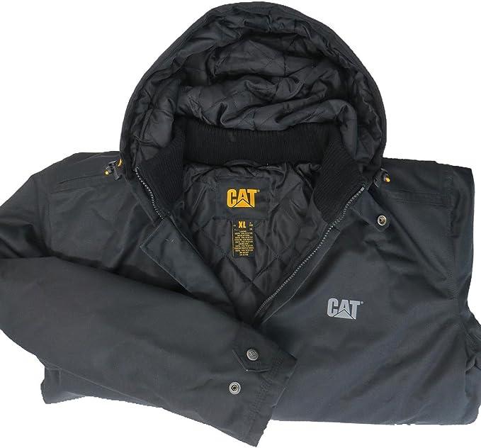 9df1255b Caterpillar Ridge Jacket Adults Black - Black - UK Sizes -: Amazon.co.uk:  Clothing