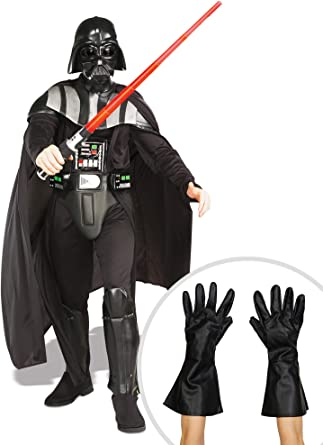Disfraz de Darth Vader de Star Wars con Guantes para Adultos Plus ...