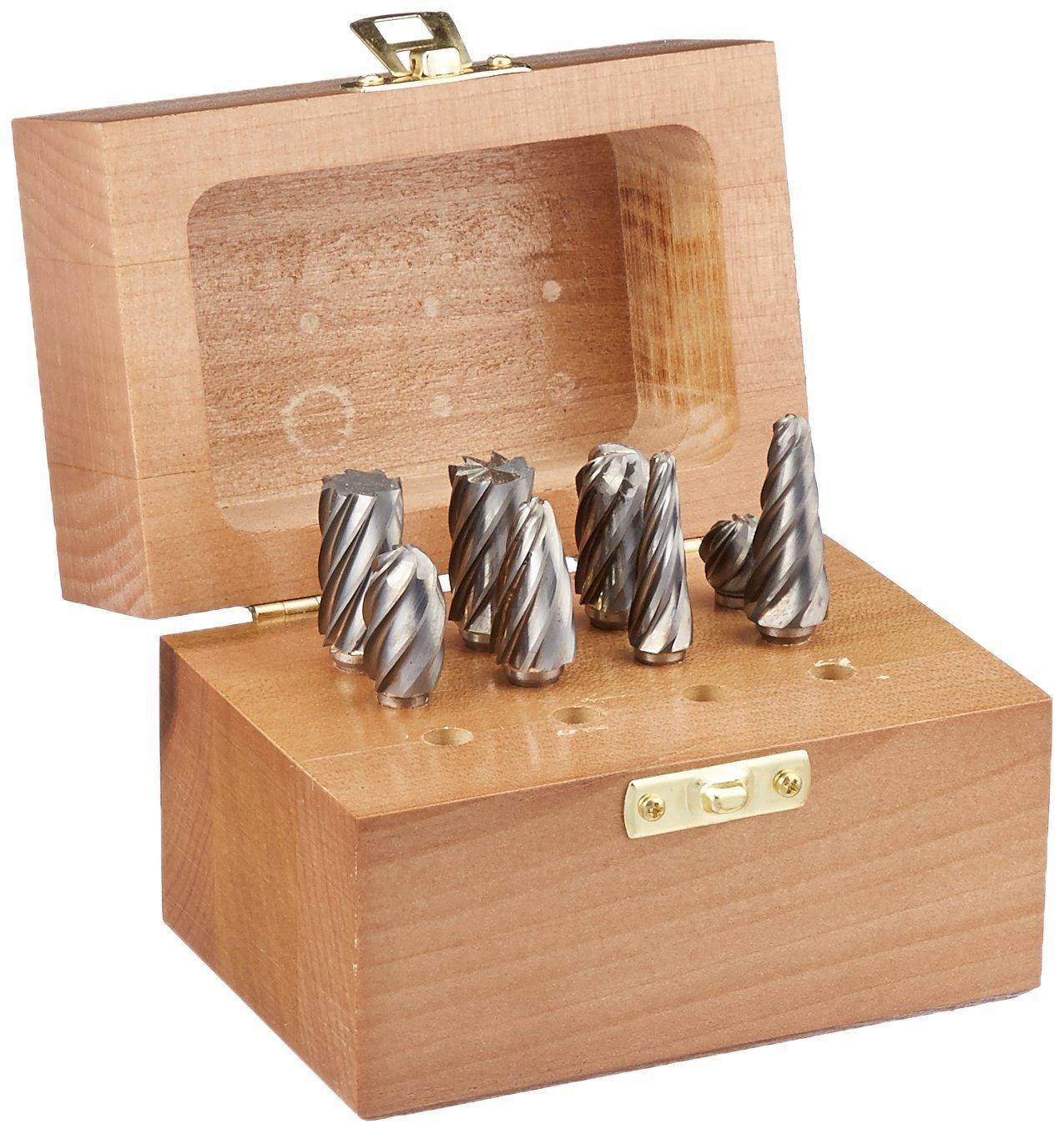 Monster Tool - 310-130005 - Carbide Bur Set, Aluma Cut, 8 piece by Monster Tool