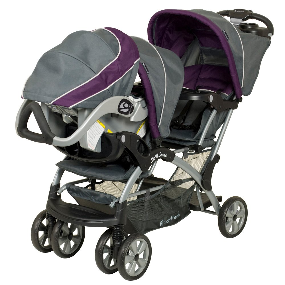 Galleon Baby Trend Sit N Stand Double Stroller Elixer
